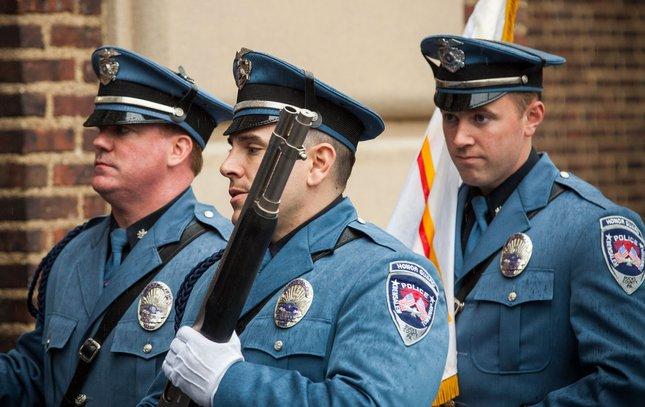 Carroll - Funeral for Officer Robert Wilson III