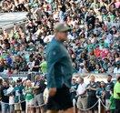 Doug Pederson fans - Philadelphia Eagles Training Camp Linc