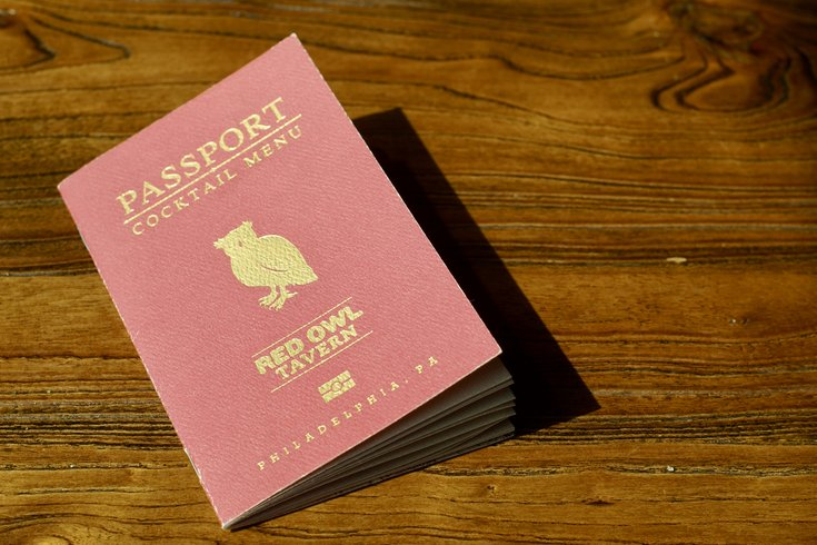 Red Owl Tavern's new passport menu includes cocktails from around the world