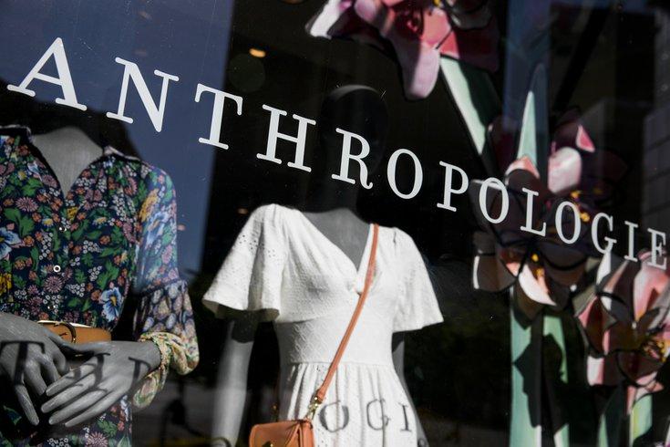 Anthro pop-up shop N.J.
