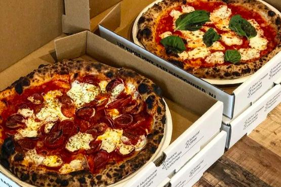 Pizza Crime brunch