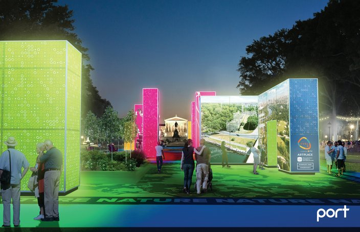 The Oval+ to open on the Parkway with new art installation   PhillyVoice