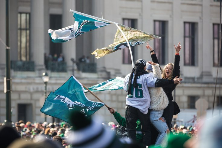 Carroll - Eagles Parade