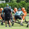 Carroll - Eagles Stock Isaac Seumalo and Matt Pryor