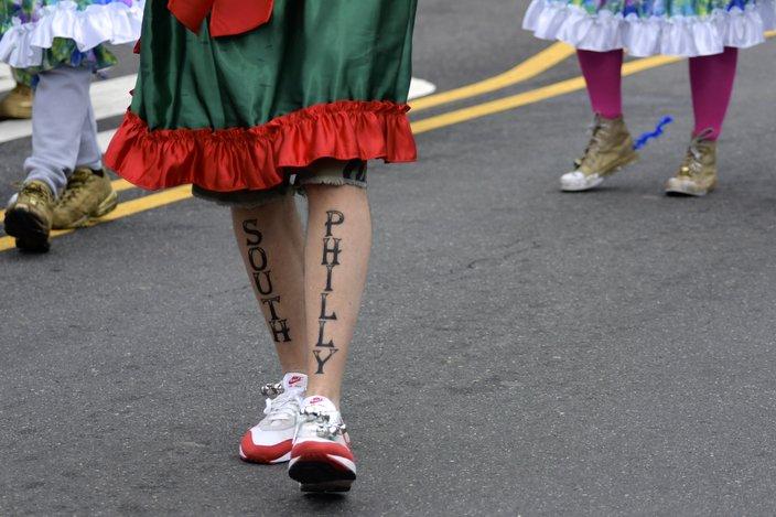 2019 Mummers Parade tattoo
