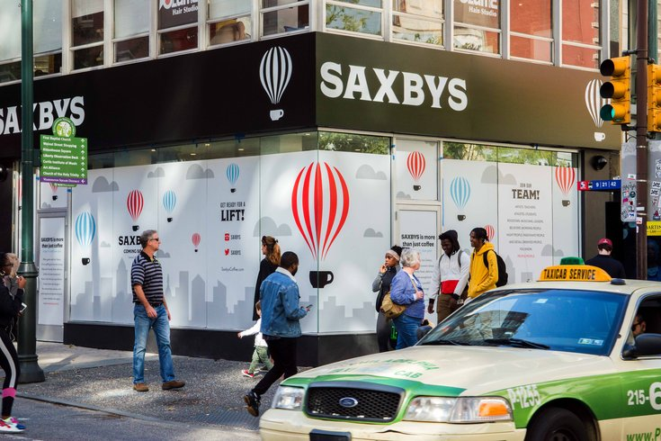 Saxbys new location