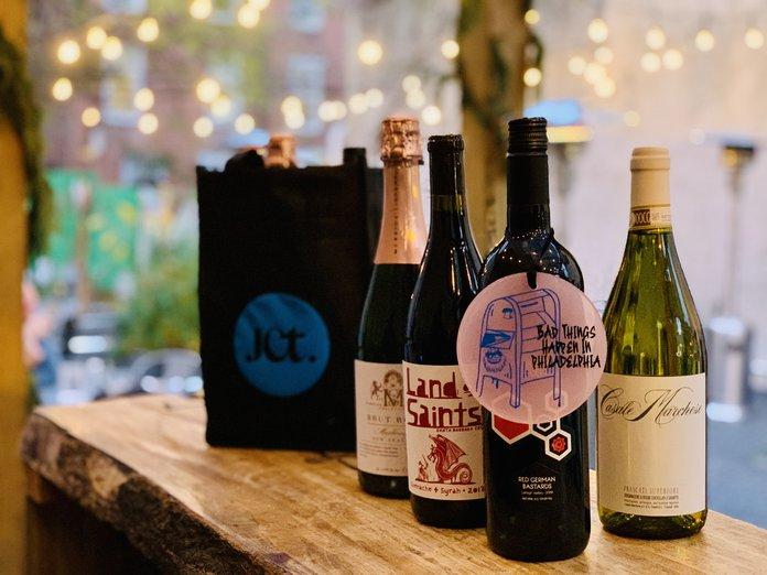 Philadelphia Wine Tote Philly themed bag