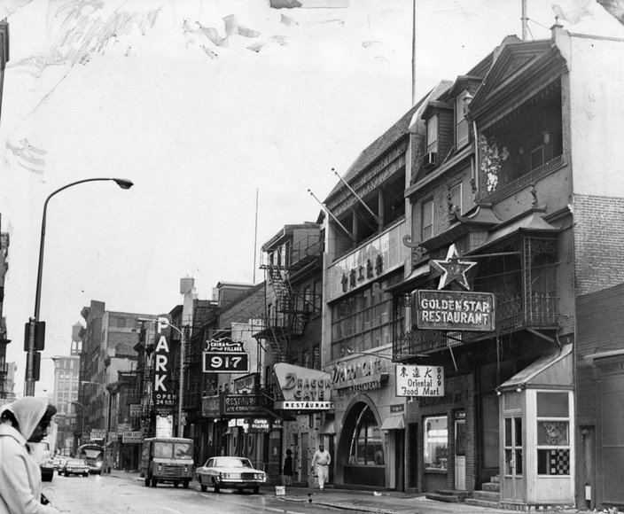 Carroll - Then / Now Chinatown