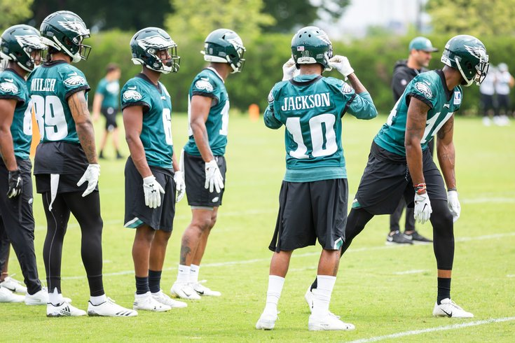 the best attitude abb58 4ac25 Eagles training camp preview: Wide receiver | PhillyVoice