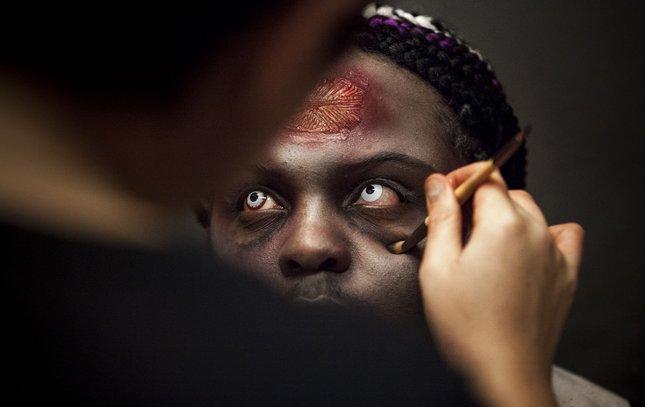 Carroll - Terror Behind the Walls Makeup