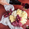 Di Bruno Bros. wine and cheese plate
