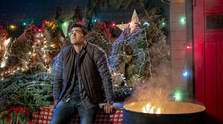 Christmas movie marathon in March on Hallmark Channel