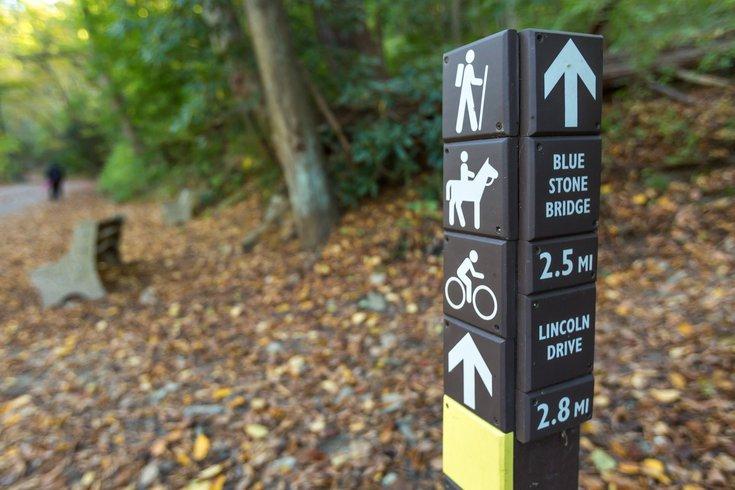 Wissahickon Valley Park trails