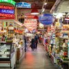 Reading Terminal Market dinner with Cristina Martinez