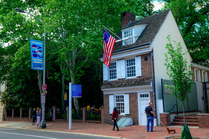 Betsy Ross House Valentine's Day