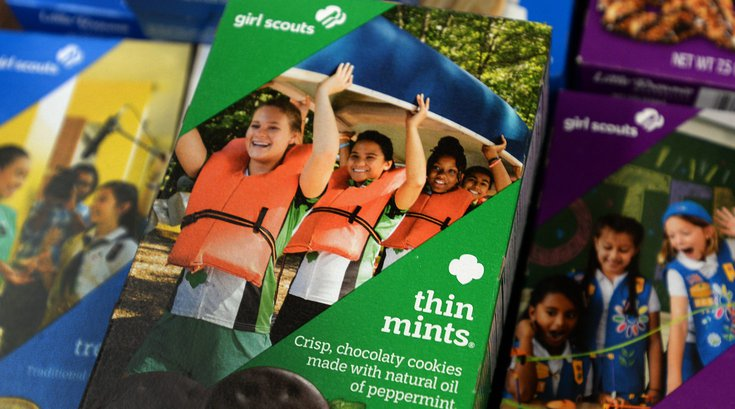 Iron Hill and Girl Scout Cookies pairing