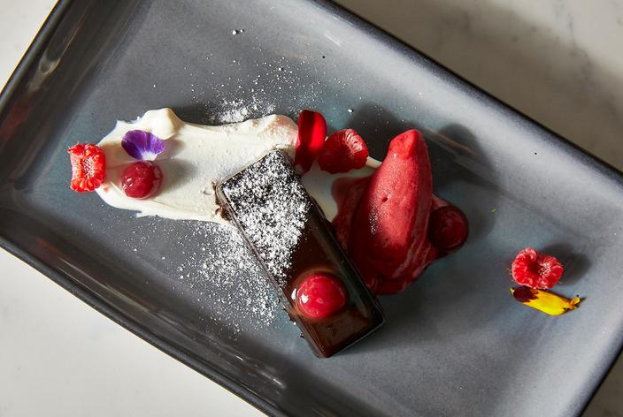 Dessert at Stella, Garces new restaurant in New Hope