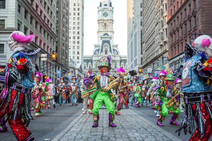 Mummers string bands