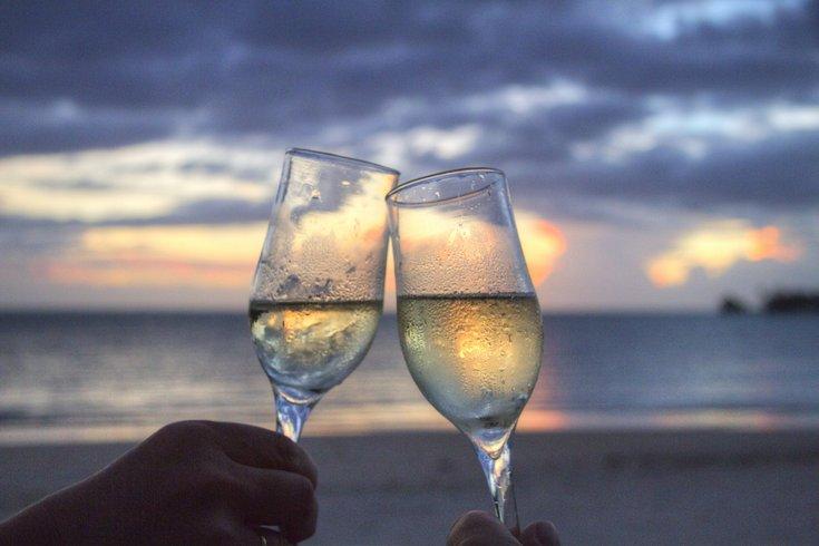 Free wine tasting at Sea Isle City Food Truck Invitational