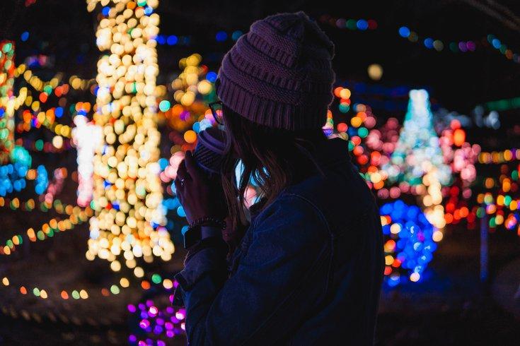 Peddler's Village holiday lights