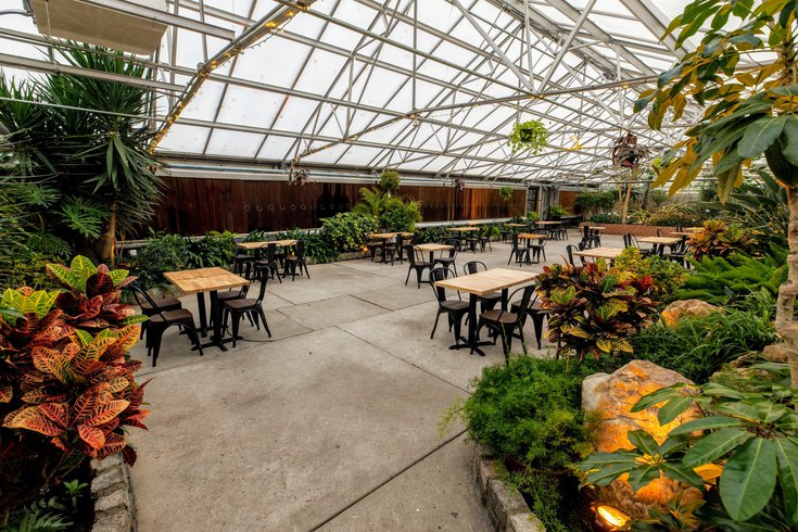 Dining at Horticulture Center