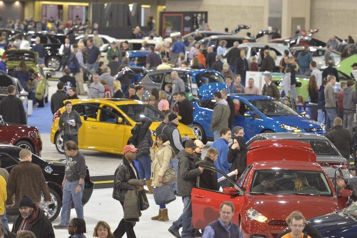 Philadelphia Auto Show Drives Into Town Jan Feb - Philadelphia convention center car show