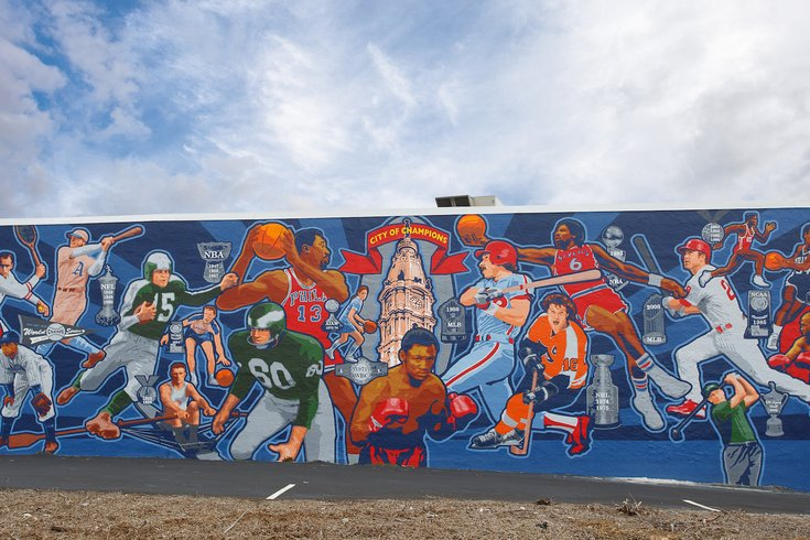 Spike's Trophies Unveils 'City of Champions' Mural ...