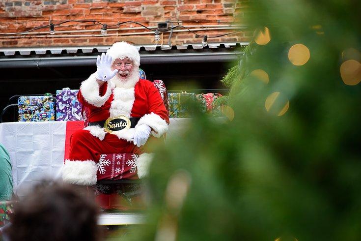 Santa at Frankford Hall