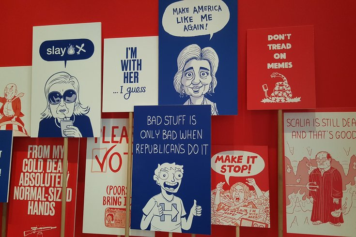 Political Cartoon Exhibit