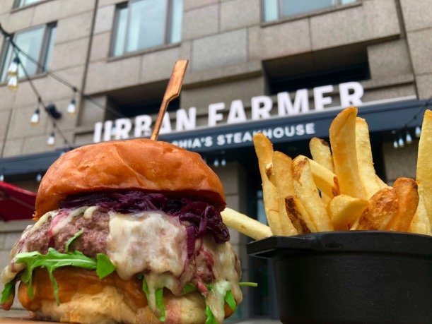 urban farmer burger special