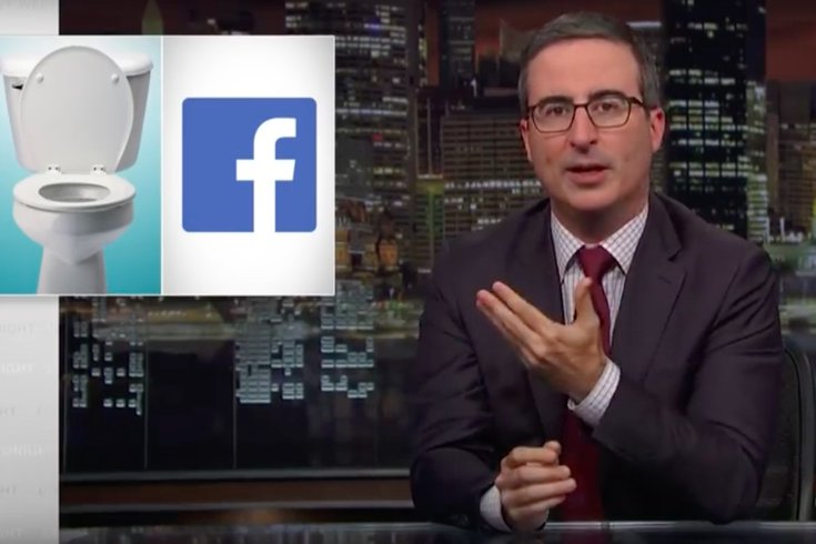 John Oliver reveals new Facebook ad with slogan, 'We're a