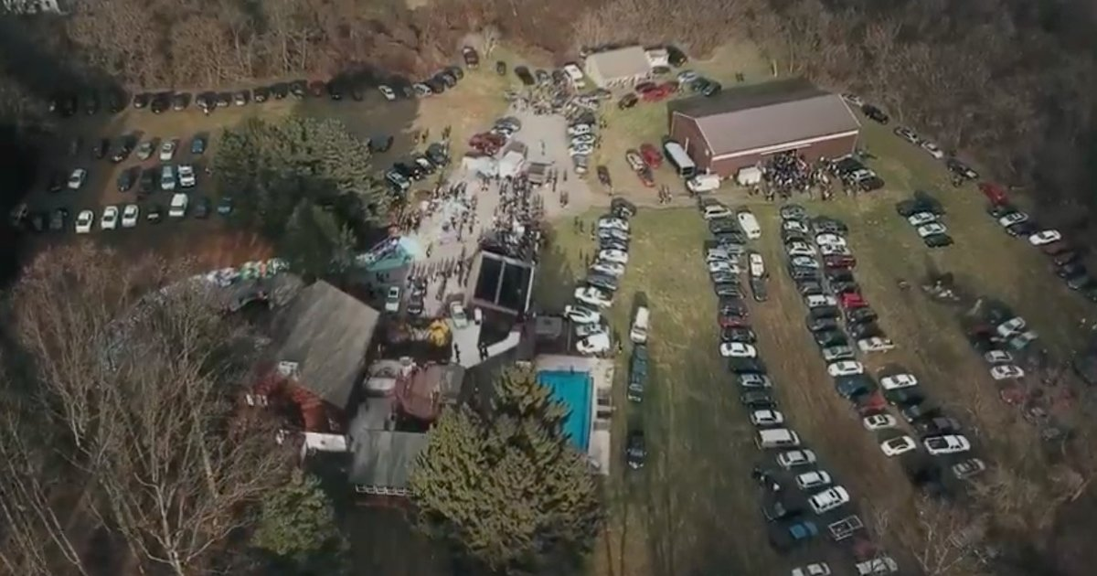bam margera u0026 39 s west chester house party was a big  rowdy