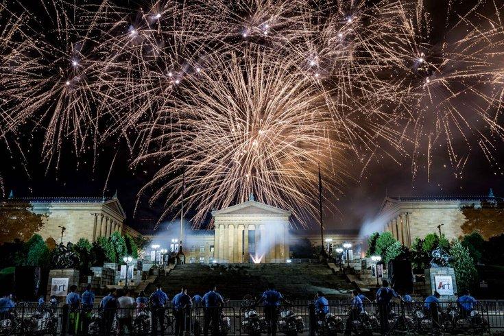 Wawa Welcome America fireworks