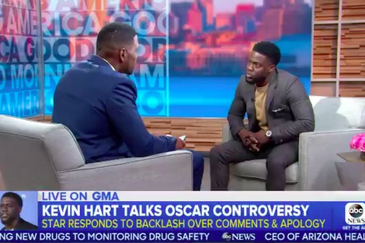 kevin hart GMA interview