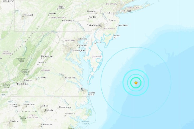 east coast earth quake jan 2019