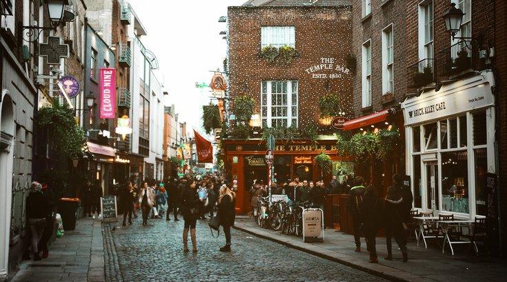 Irish art exhibit