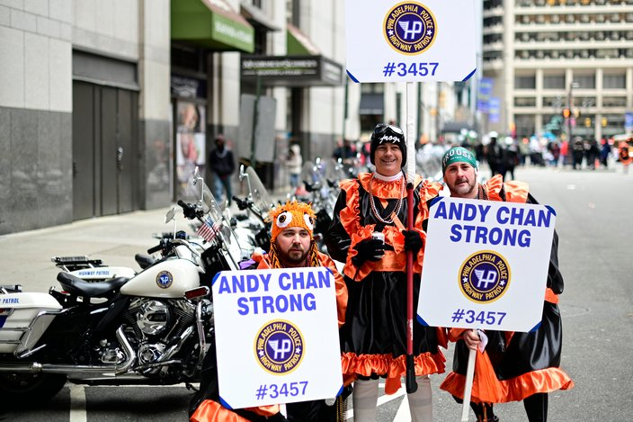 MUMMERS parade andy chan