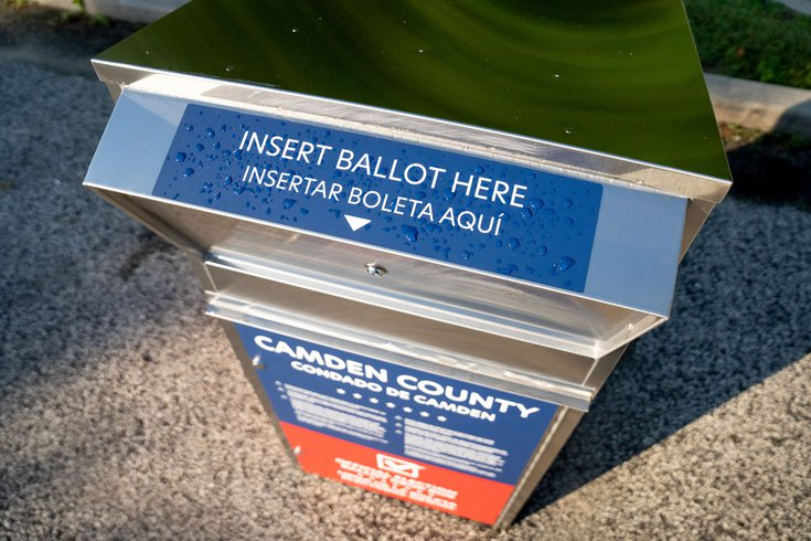 NJ primary ballot drop box