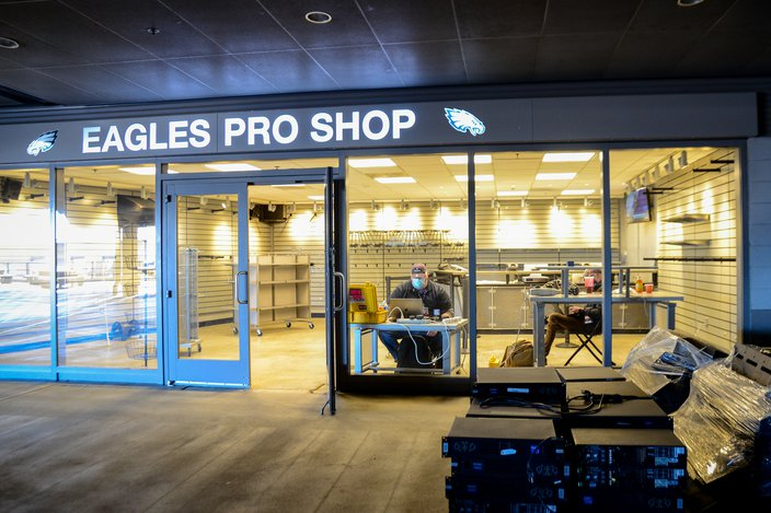 Eagles-Rams-Pro-Shop- 사진 실 -Kate-Frese
