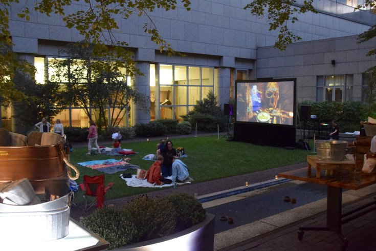 Movie night series at Logan Hotel