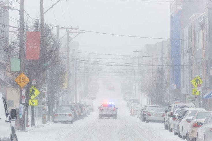 Carroll - Snow Police Car