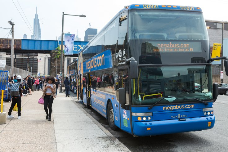 Carroll - Megabus in Philadelphia