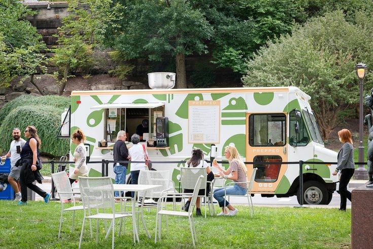 Philadelphia Museum of Art food truck