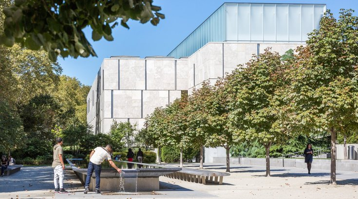 Flower Show tour and lunch at Barnes Foundation
