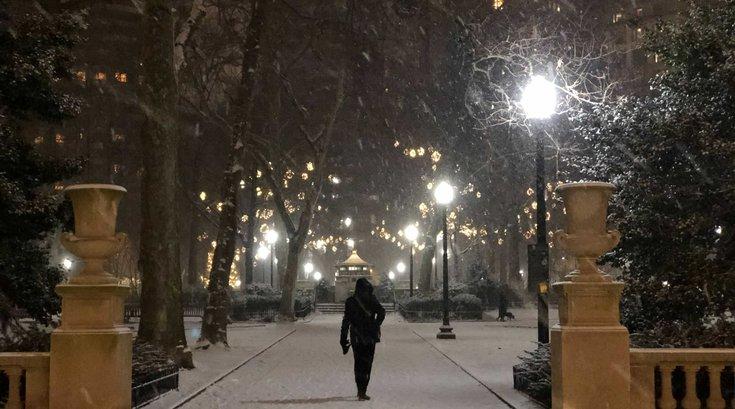 nor'easter snow Philadelphia