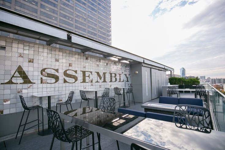 High Tea at Assembly Rooftop Lounge