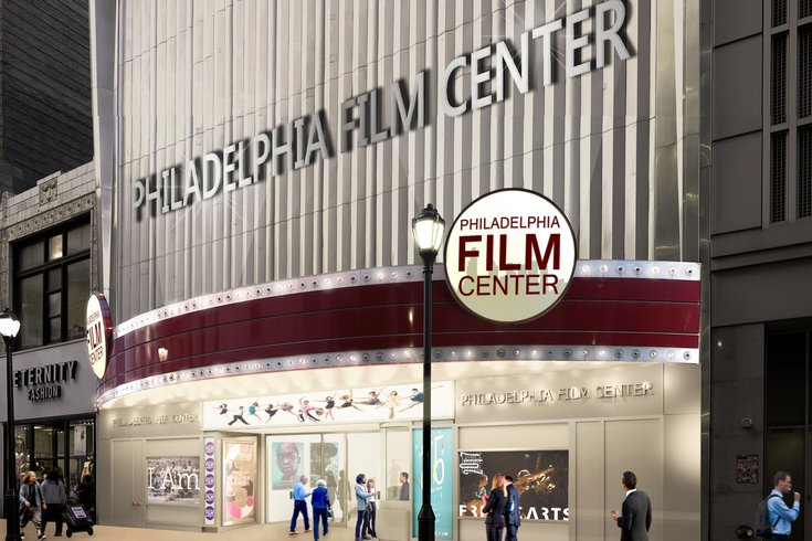 Philadelphia Film Center front rendering