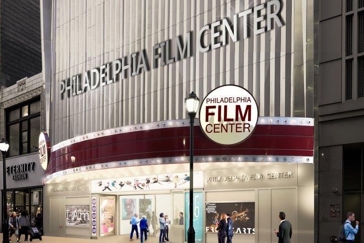 Philadelphia Film Center front rendering