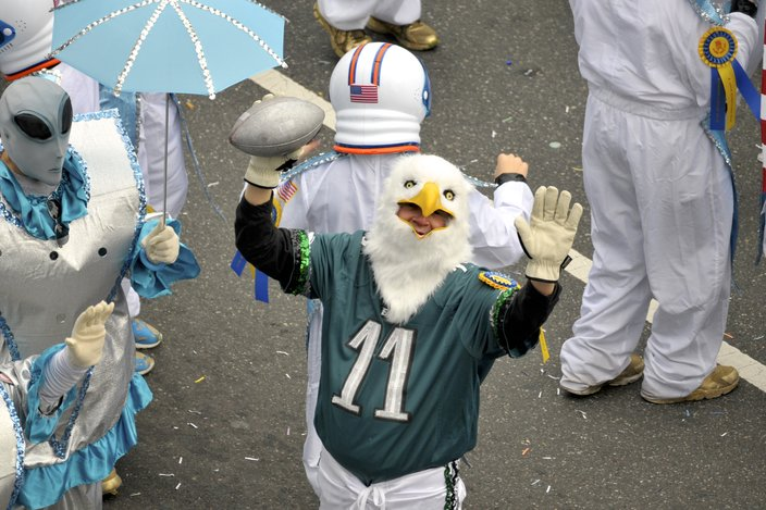 2019 Mummers Parade eagles
