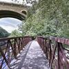 Wissahickon trail bridge replacement